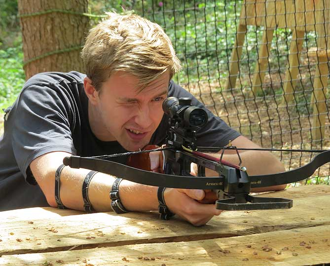 Crossbows with insight activities